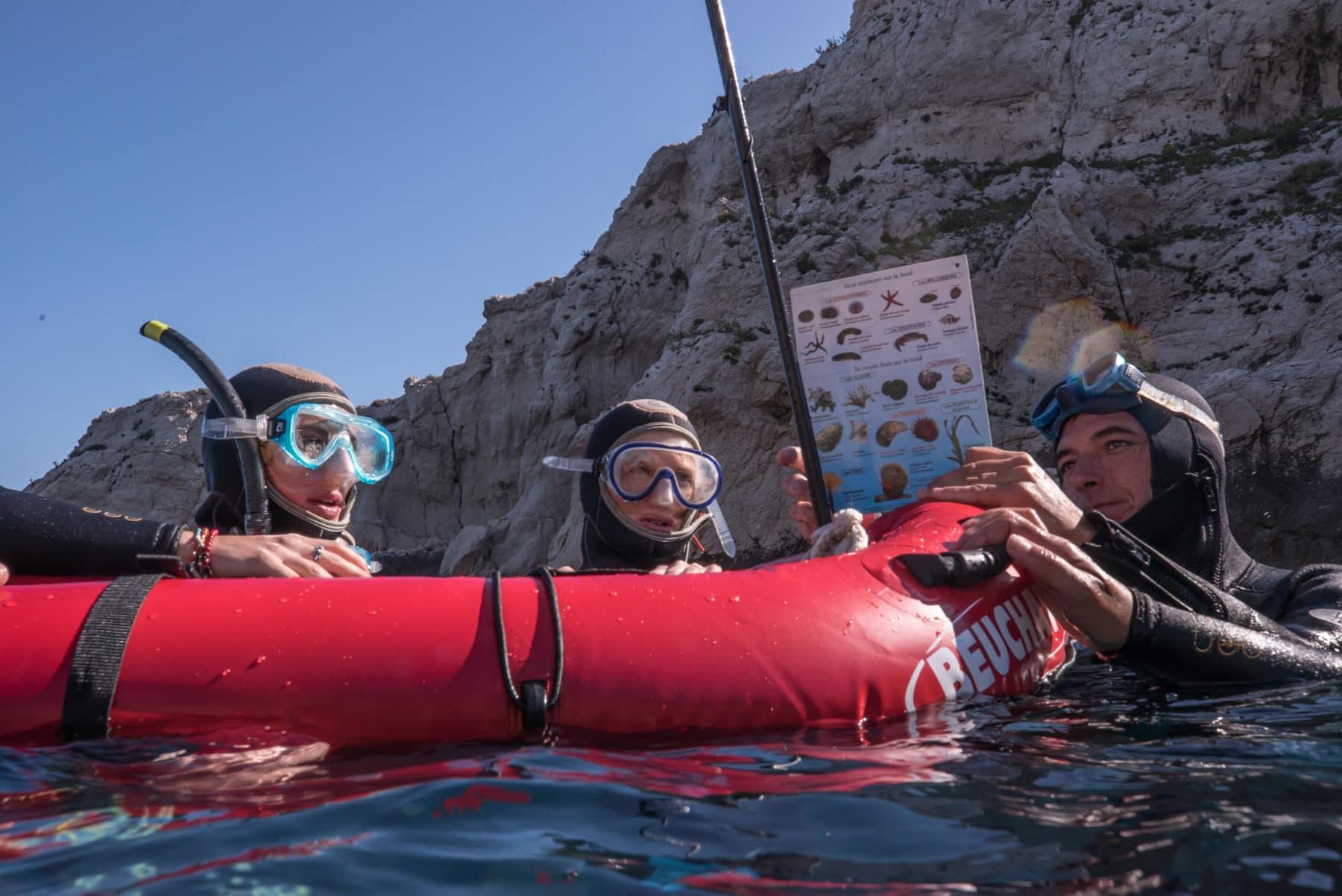 plongée snorkeling marseille